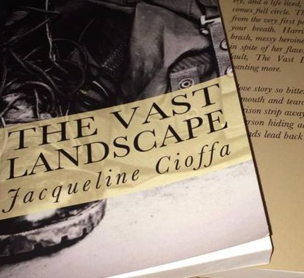 """Jacqueline Cioffa's novel """"The Vast Landscape"""" is not a memoir, but the story shares elements with the author's 17-year career as an international fashion model. auburnpub.com"""